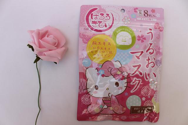 Hello Kitty sakura facial masks