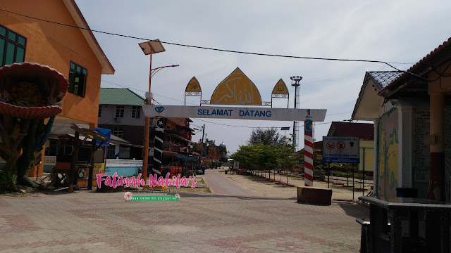kampung nelayan, pulau perhentian, terengganu
