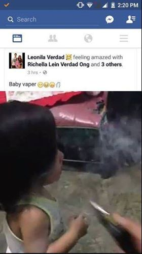 SHOCKING: These Parents Are Teaching their Child to Use Vapes And It Goes Viral! Watch This!