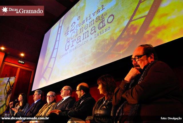 Coletiva de lançamento do 42º Festival de Cinema de Gramado
