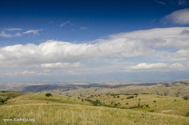 Near the villages Polog, Iveni, Grumazi