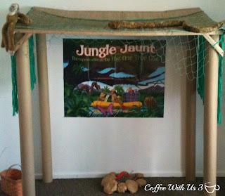 Jungle VBS Hut