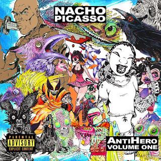 Nacho Picasso - AntiHero Vol. 1 (2016) -  Album Download, Itunes Cover, Official Cover, Album CD Cover Art, Tracklist