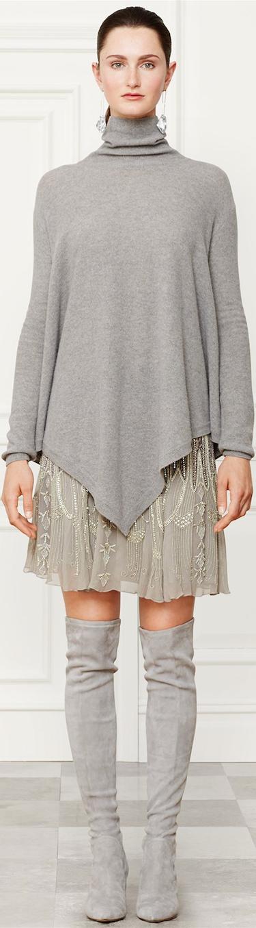 Ralph Lauren Montgomery Skirt Fall 2014 Collection