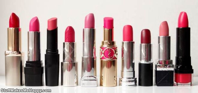 4. 60 lipsticks are made