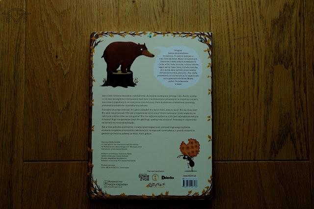 ksiażeczka dla dzieci o zwierzetach rok w lesie dziubak emilia