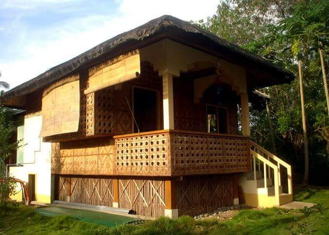 50 images of different bahay kubo or small nipa hut