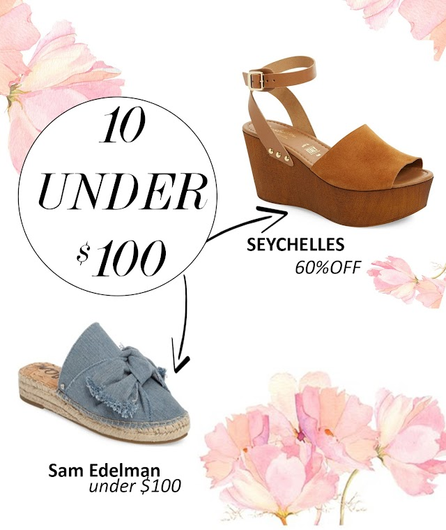 New Spring Finds- 10 shoes under $100