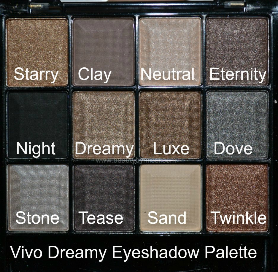 swatches, review, värvinäidised, neutral eyeshadow palette