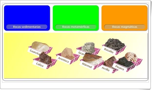 """""""Las rocas"""" (Juego de Ciencias Sociales de Primaria)"""