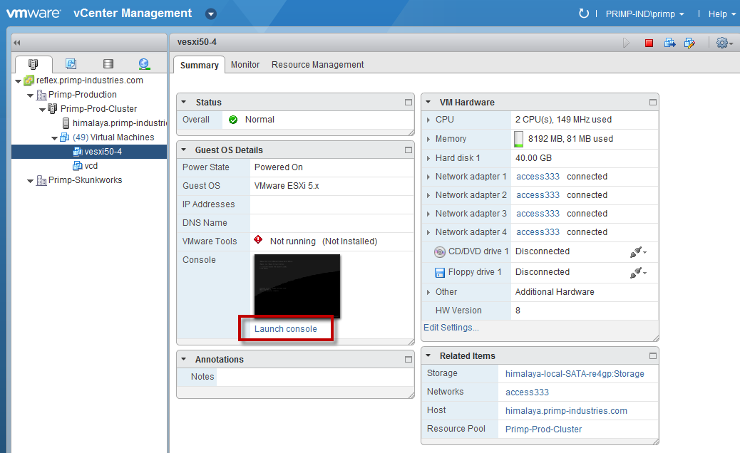 How to Generate VM Remote Console URL for vSphere 5 x Web Client