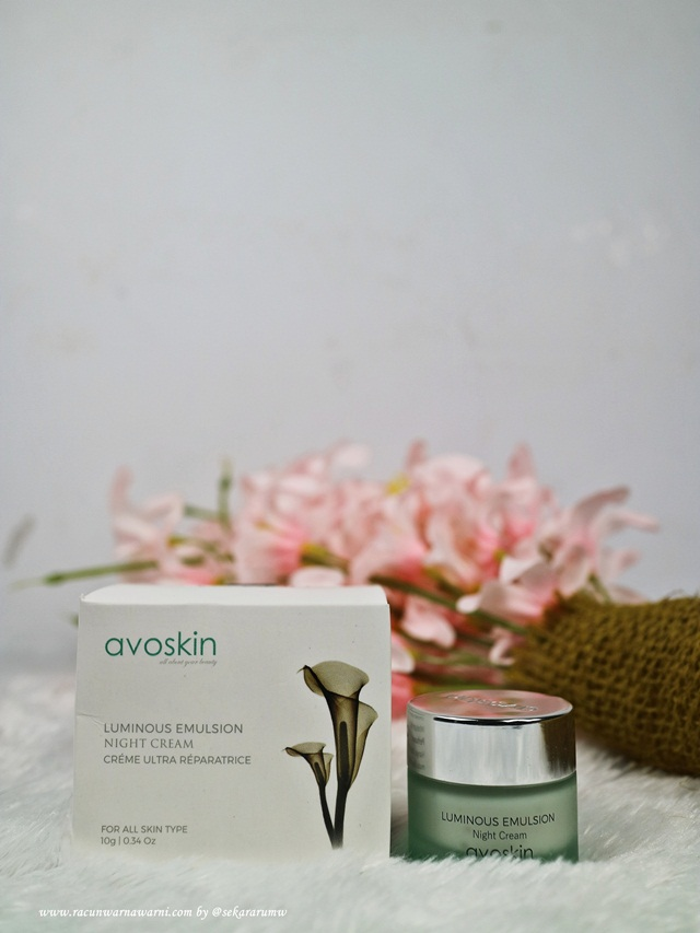 Review Night Cream Avoskin