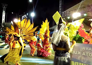 festival malam hari adat budaya kota kudus