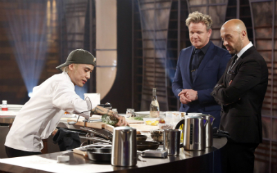 Dino was crowned the winner of MasterChef season 8