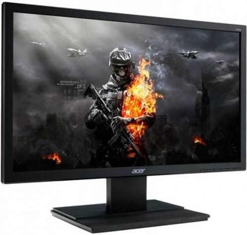 A conectividade do monitor Acer V246hl se expande a três saídas, expandindo seu uso