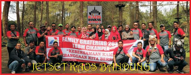 Gambar Kaos Gathering Karyawan Pertamina Cikampek