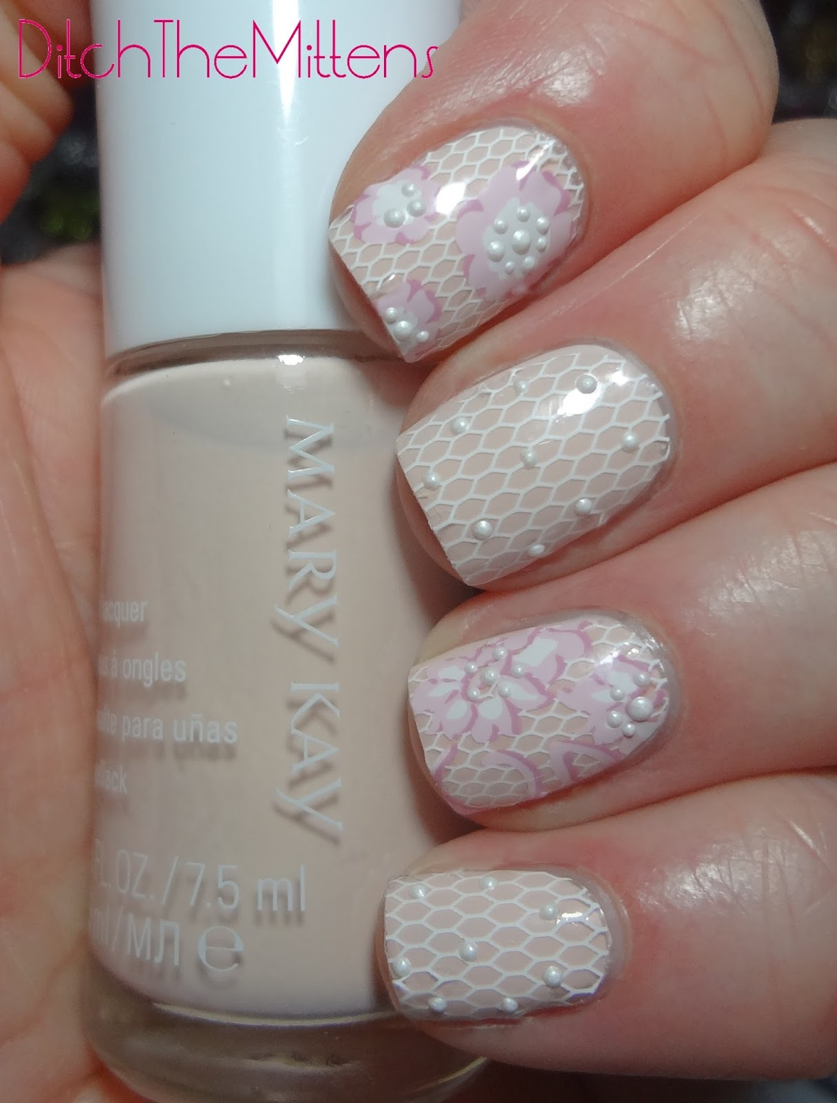 Ditch the Mittens: Mary Kay Into The Garden Nail Appliques