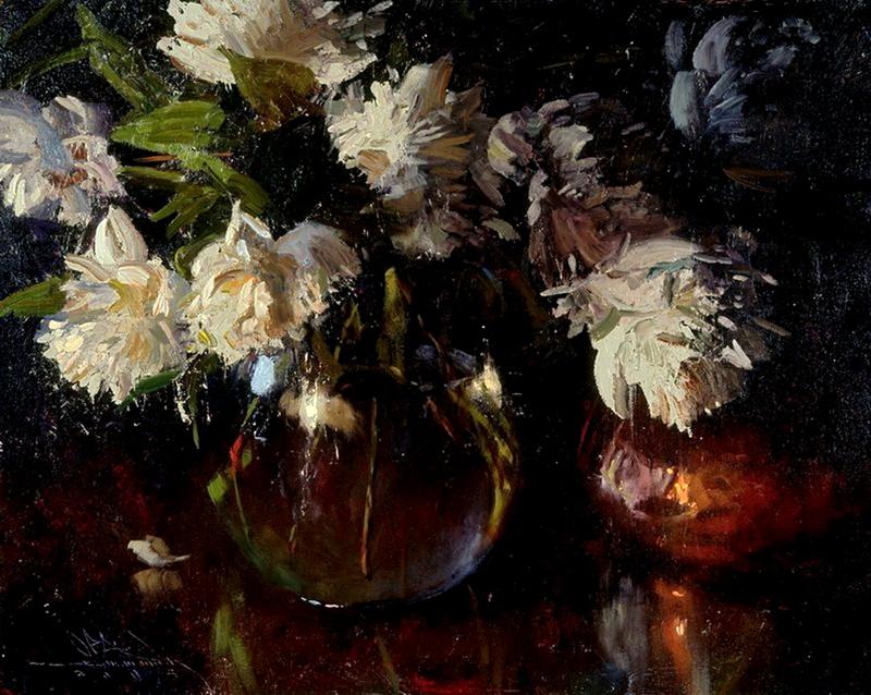 Still life | Charles Warren Mundy 1945 | American impressionist painter