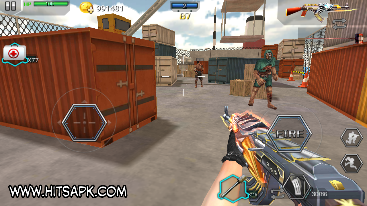 Download All Strike 3D MOD APK Terbaru