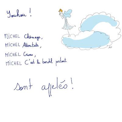 agathe, albane devouge, dessin, humour, illustration, illustratrice, michel hommage,
