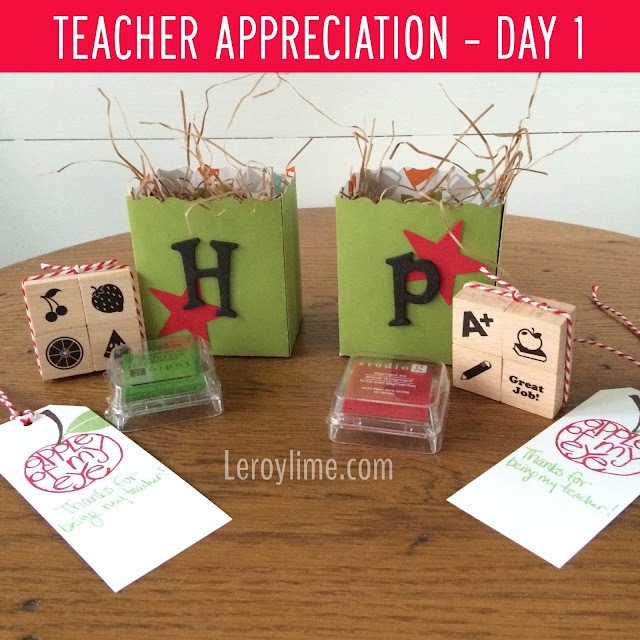 Teacher Appreciation Week - Day 1 - LeroyLime
