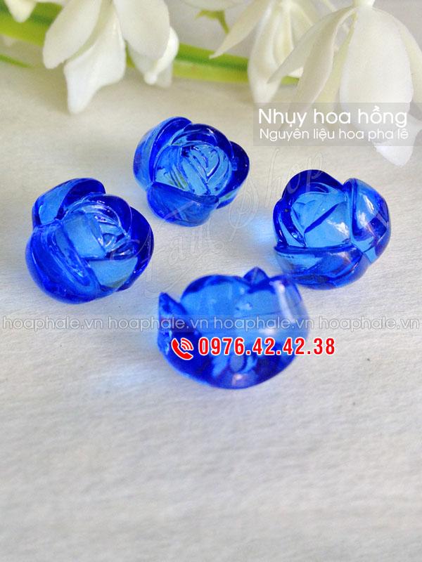 Nhụy hoa hồng - Nguyên liệu làm hoa pha lê