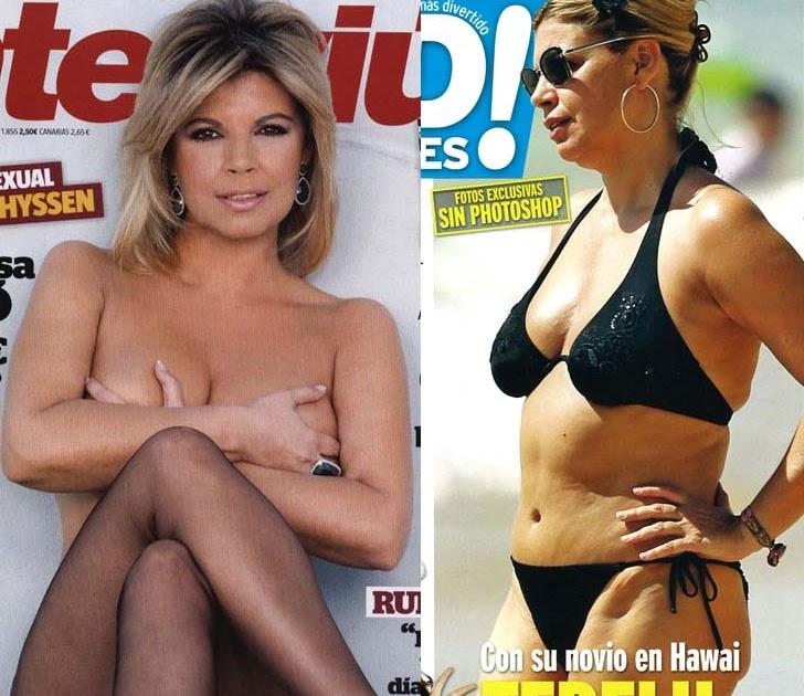 Terelu Campos, sin Photoshop