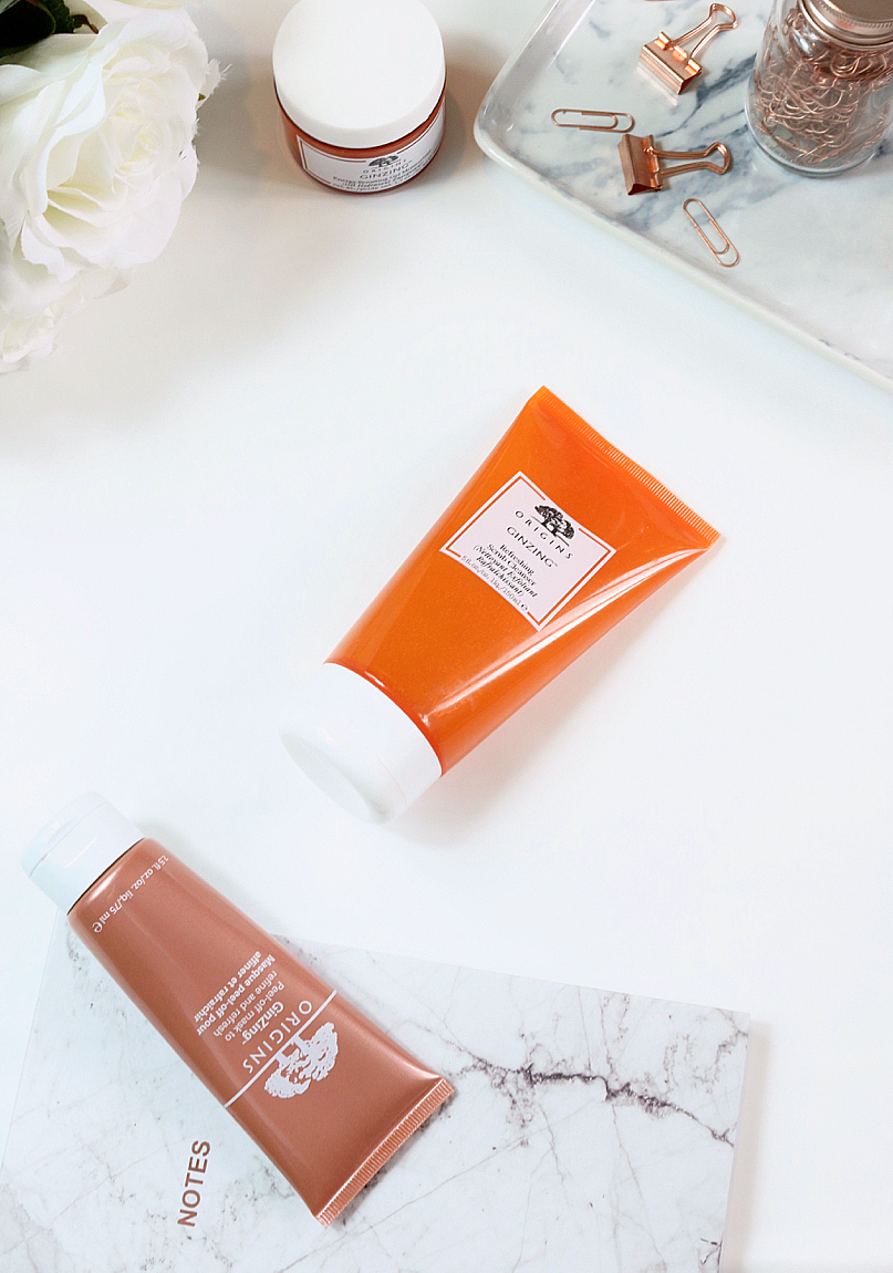 Origins Refreshing GinZing Scrub Cleanser Review
