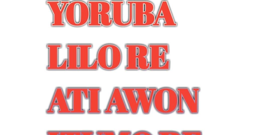 owo meaning in yoruba