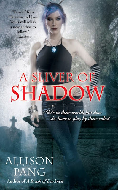 Cover Revealed - A Sliver of Shadow (Abby Sinclair 2) by Allison Pang