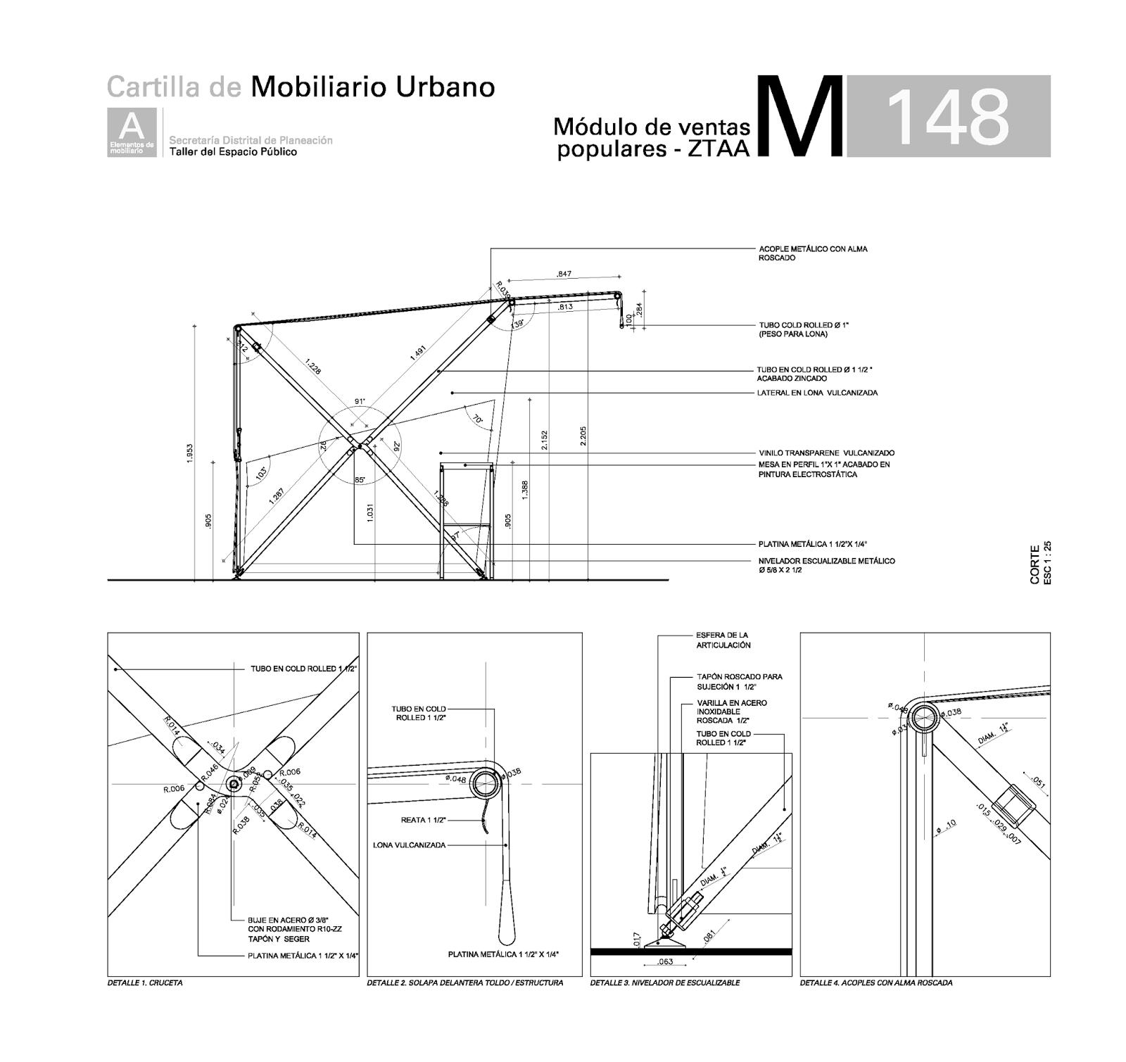 Elarchy Graphics: Cartilla Mobiliario Comiplada