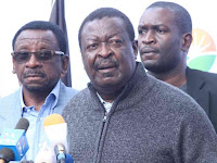Stop lying to NASA supporters, elections cannot be held in August 2018 but 2022 - MUDAVADI now tells RAILA ODINGA