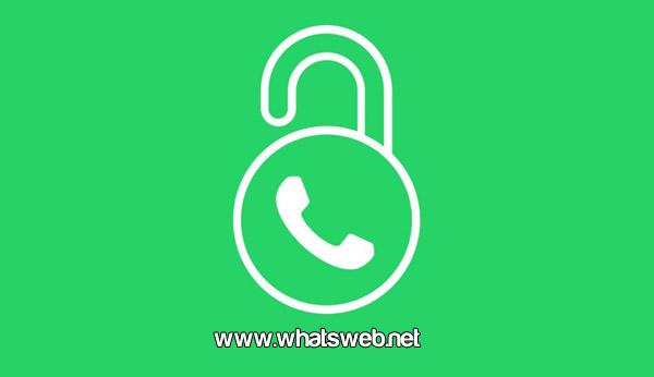 Candado en WhatsApp