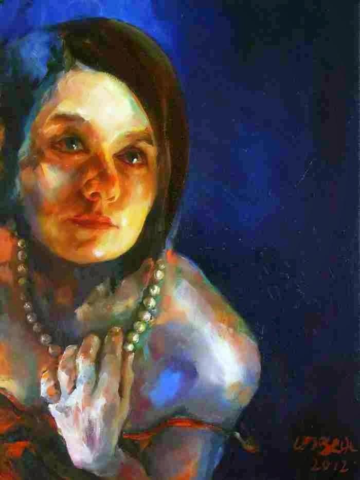 Португальская художница. Maria Teresa Crawford Cabral