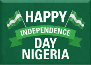 About 1960 October 1st  Nigeria's Independence Day