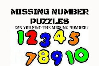 Puzzle and Brain Teasers in which challenge is to find the missing number