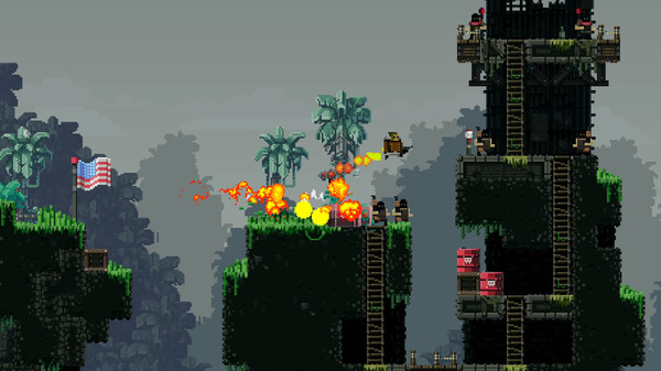 Broforce PC Free Download Screenshot 1