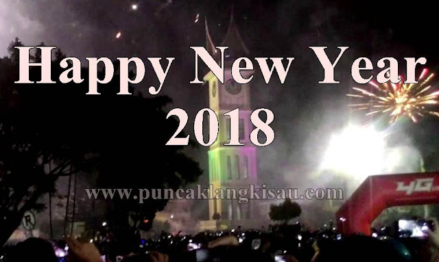 Kata-Kata Ucapan Tahun Baru / Happy New Year 2018