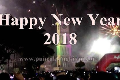Kata-Kata Ucapan Selamat Tahun Baru / Happy New Year 2018