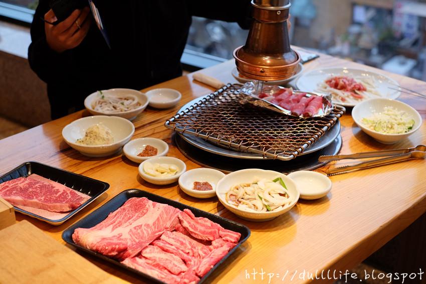 [首爾。馬場站]*必試1++炭火烤韓牛*品質頂級、回味無窮!
