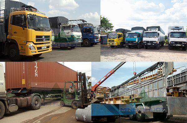Những phương tiện thường dùng vận chuyển hàng hóa nội địa
