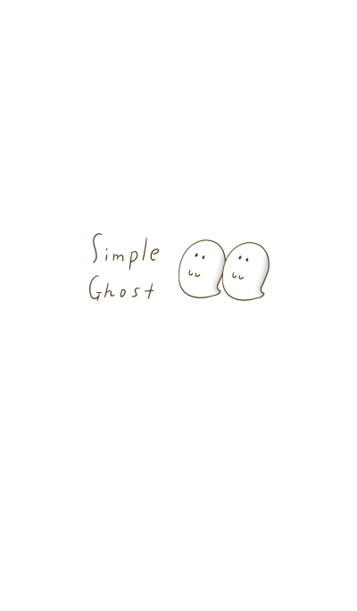Simple Ghost Theme.