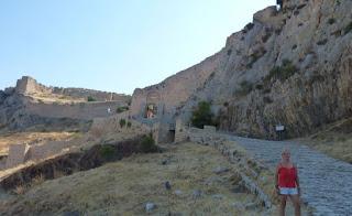 Península del peloponeso, Acrocorinto.