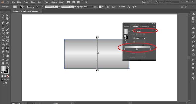 Cara Membuat tekstur besi metal dengan Adobe Illustrator