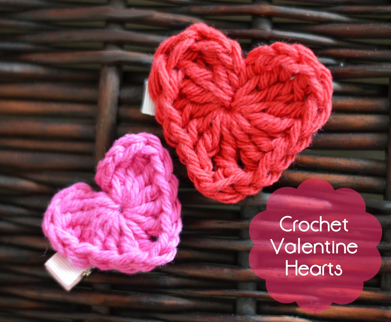 Valentines Day Heart Free Crochet Pattern The Stitchin Mommy
