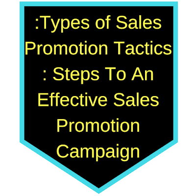 Types of Sales Promotions Perfect For Small Businesses and Entrepreneurs.