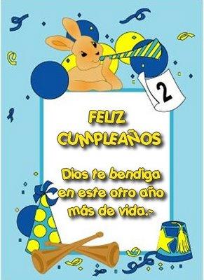 Cumpleaños Cristianas
