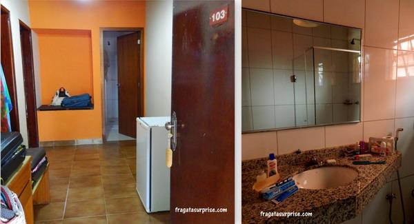 Quarto do Hotel Pantanal Mato Grosso
