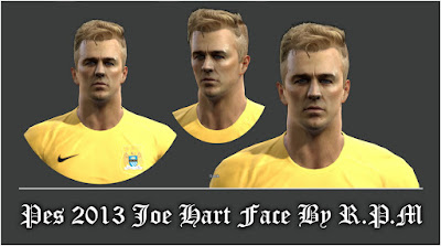Pes 2013 Joe Hart Face By R.P.M