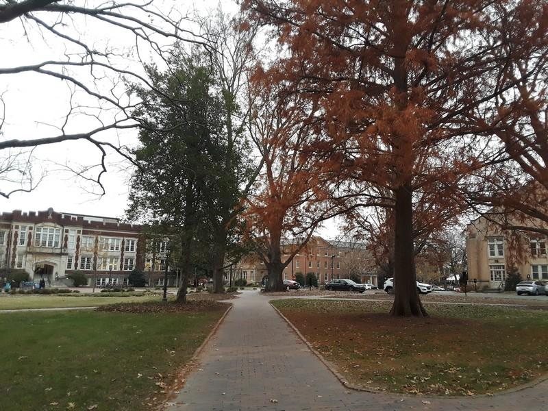 Balade dans le campus d'UNC
